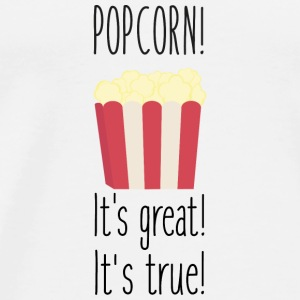 Popcorn! its great Baby Long Sleeve Shirts - Men's Premium T-Shirt