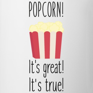 Popcorn! its great T-shirts - Mugg