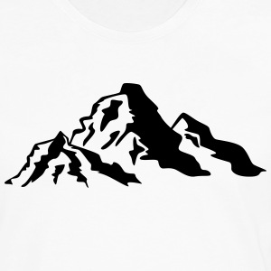 Mountain Icon T-Shirts - Men's Premium Longsleeve Shirt