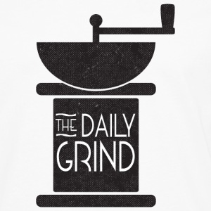 Daily Coffee Grind - Men's Premium Longsleeve Shirt