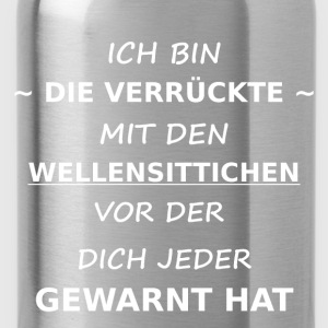 wellensittich T-Shirts - Trinkflasche