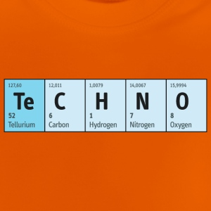 Techno Beat Dance Music Industrial Minimal House - Baby T-Shirt