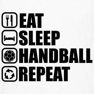 Eat,sleep,handball,repeat,   - Men's Premium Longsleeve Shirt