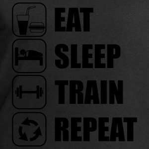 Eat,sleep,train,repeat Gym,bodybuilding,crossfit - Men's Sweatshirt by Stanley & Stella