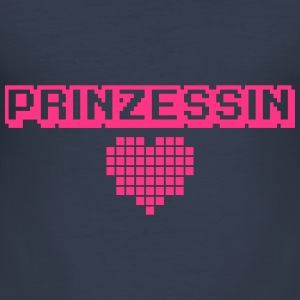 Pixel Prinzessin Sweat-shirts - Tee shirt près du corps Homme