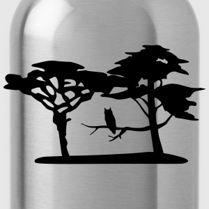 Nature, forest, owl Shirts - Water Bottle