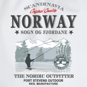 Norway Fishing T-Shirts - Turnbeutel