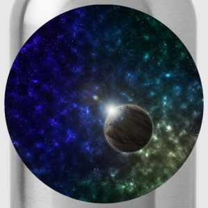 Space and Planet Scene T-Shirts - Trinkflasche