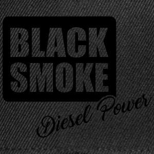 Black smoke diesel power T-Shirts - Snapback Cap
