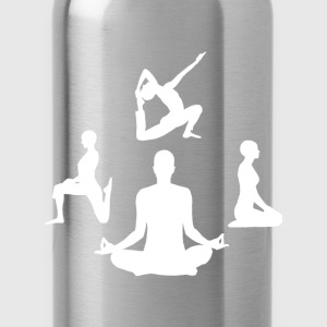 Pilates Yoga Meditation - Trinkflasche