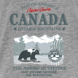 Canada - Grizzly Bear Pullover & Hoodies - Männer Premium T-Shirt