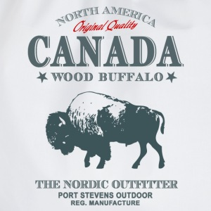 Canada - Bison Buffalo  T-Shirts - Turnbeutel