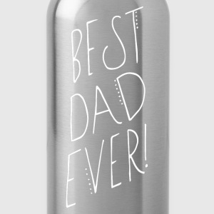 Best dad ever shirt - Trinkflasche