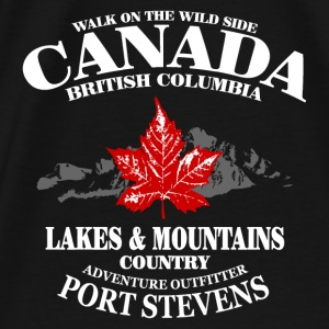 Canada - Maple Leaf & Mountain Pullover & Hoodies - Männer Premium T-Shirt