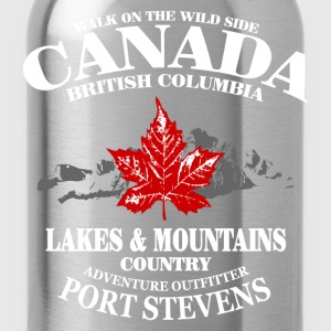 Canada - Maple Leaf & Mountain T-Shirts - Trinkflasche
