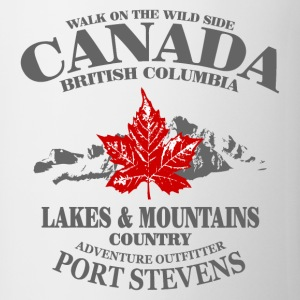 Canada - Maple Leaf & Mountain T-Shirts - Tasse