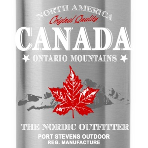 Canada - Maple Leaf & Mountain Pullover & Hoodies - Trinkflasche