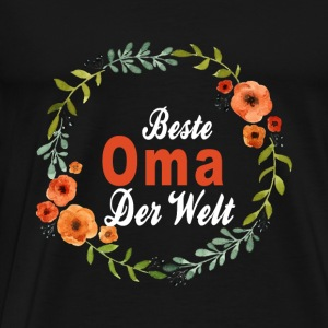 Oma Sweaters - Mannen Premium T-shirt
