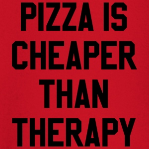 Pizza Is Cheaper Than Therapy T-skjorter - Langarmet baby-T-skjorte