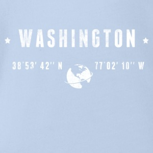 Washington Shirts - Baby bio-rompertje met korte mouwen