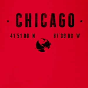 Chicago T-Shirts - Baby Bio-Kurzarm-Body