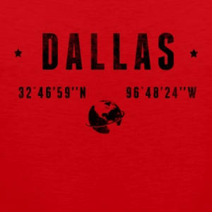 DALLAS T-Shirts - Men's Premium Tank Top