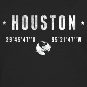 Houston  Shirts - Mannen Premium shirt met lange mouwen