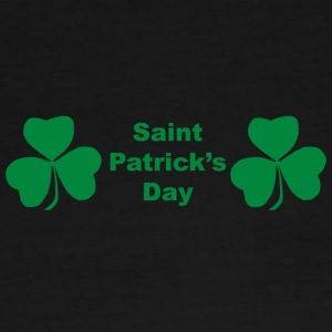 Saint Patrick's Day shamrocks  - Men's Premium T-Shirt