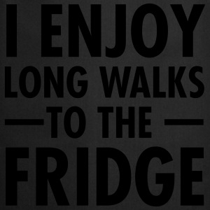 I Enjoy Long Walks To The Fridge T-shirts - Forklæde
