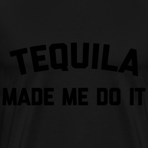 Tequila Do It Funny Quote Tröjor - Premium-T-shirt herr