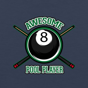 Awesome Pool player - Männer Premium Tank Top