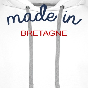 Made in Bretagne - Sweat-shirt à capuche Premium pour hommes