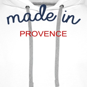 Made in Provence - Sweat-shirt à capuche Premium pour hommes