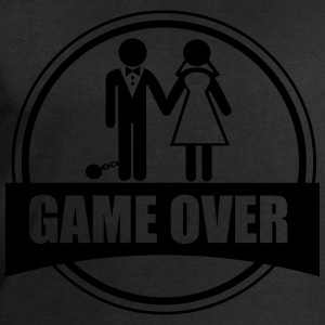 Game over, Funy, couples - Men's Sweatshirt by Stanley & Stella