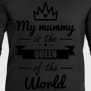 Mummy Queen,Funny,gift,mother,Mommy - Men's Sweatshirt by Stanley & Stella