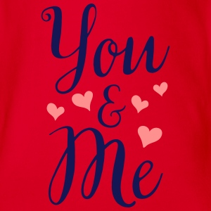 YOU & ME T-Shirts - Baby Bio-Kurzarm-Body