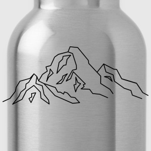 Mountain Icon T-Shirts - Water Bottle