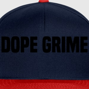 Dope Grime Tee shirts - Casquette snapback