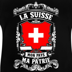 La Suisse - Mon Pays - Ma Patrie Long Sleeve Shirts - Baby T-Shirt