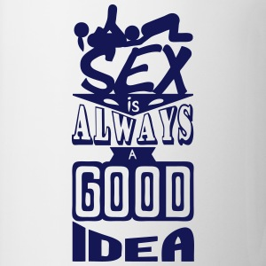 sex quote always good idea position Manga larga - Taza