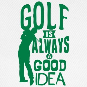 Golf always good idea citation quote Tops - Baseball Cap