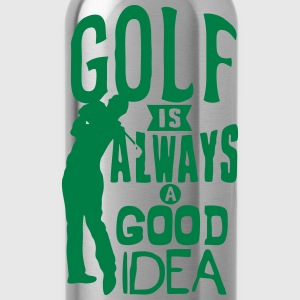 Golf always good idea citation quote Tops - Cantimplora