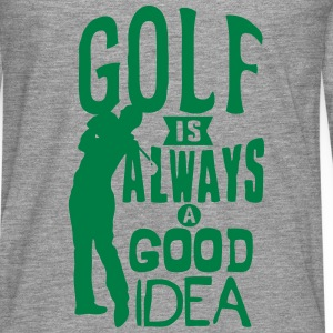 Golf always good idea citation quote Tops - Men's Premium Longsleeve Shirt