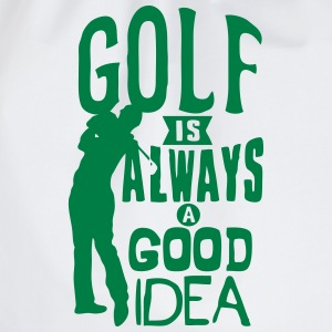Golf always good idea citation quote Sports wear - Drawstring Bag