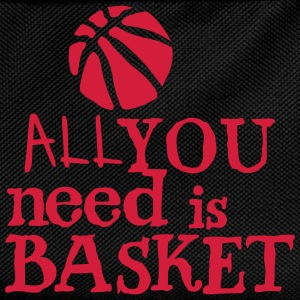 basketball_all_you_need Zitat Ballon Sportbekleidung - Kinder Rucksack