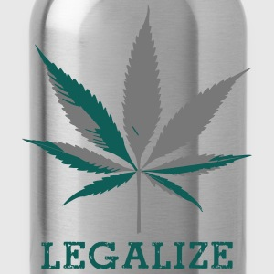 legalize_cannabis T-Shirts - Trinkflasche