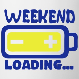 weekend loading citation pile charger Tabliers - Tasse
