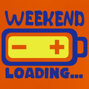 Weekend loading quote battery drums charger Camisetas - Camiseta bebé