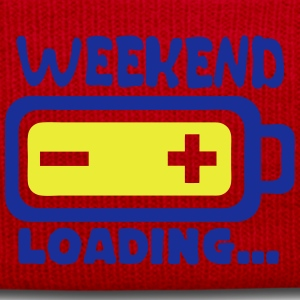 weekend loading citation pile charger Tee shirts - Bonnet d'hiver