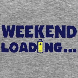 weekend_loading quote drums battery Tops - Men's Premium T-Shirt